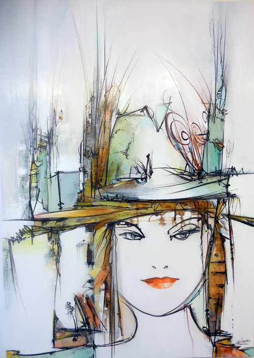 demoiselle-au-chapeau