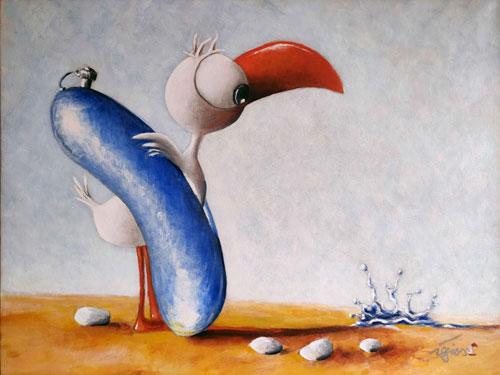 _Le-petit-baigneur----acrylique--12f--61x50